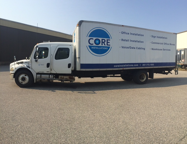 Core Installations Truck